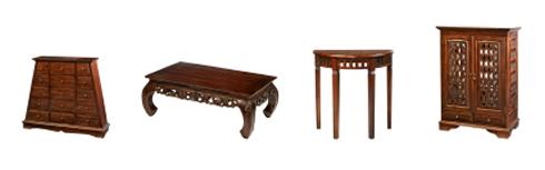 kolonialstil m bel. Black Bedroom Furniture Sets. Home Design Ideas