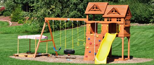 Sehr Schaukel für Kinder - das perfekte Garten Spielzeug AL58
